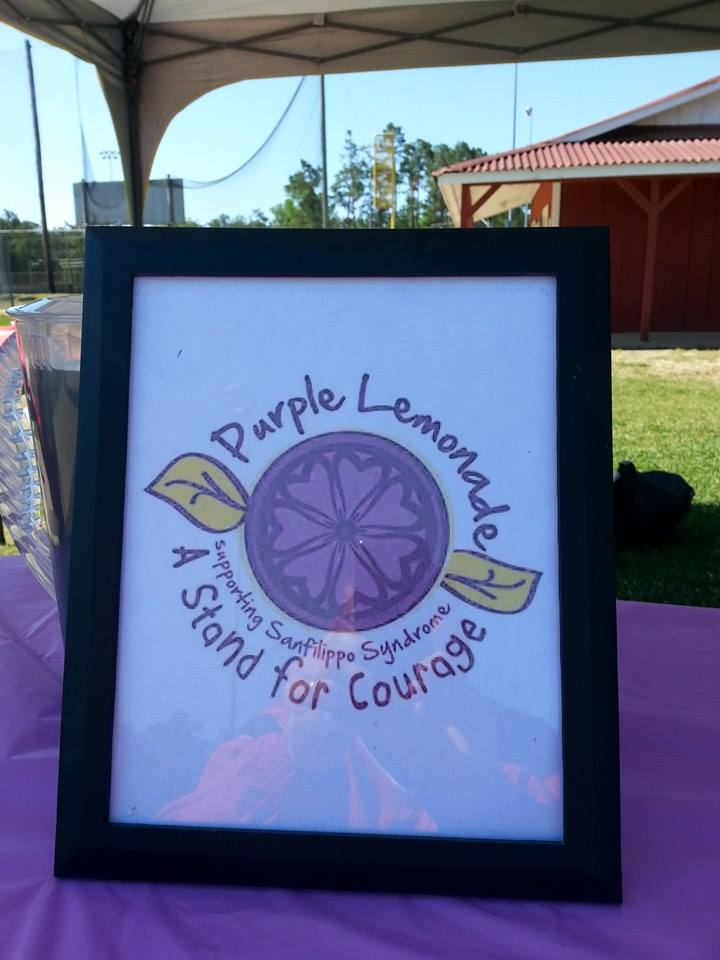 Purple Lemonade ~ A Stand for Courage